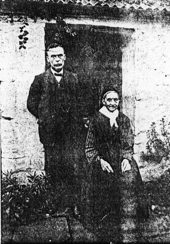 Azariah and his mother Martha Morgan